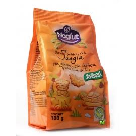 Детски бисквити Джунгла, без глутен 100гр Noglut