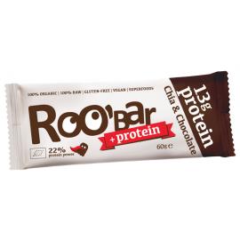 Roobar Протеинов бар с чиа и шоколад 30гр