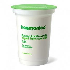 """Био краве кисело мляко """"Хармоника 3,6% 400 гр"""