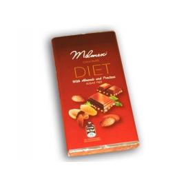 Диетичен шоколад с ядки 100гр