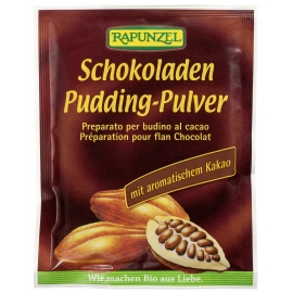 Пудинг шоколад на прах Rapunzel 40 гр. БИО