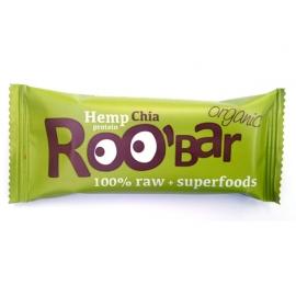Roobar Суров бар конопен протеин и чиа 50гр