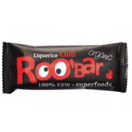 Roobar Суров бар лакриц и чили 50гр