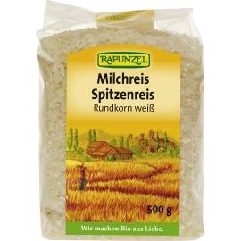 Ориз бял (млечен) Rapunzel 500 гр. БИО