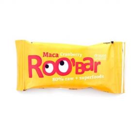 Roobar Суров бар мака и червени боровинки 50гр
