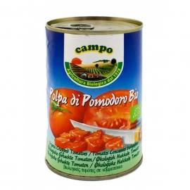 Био нарязани домати консерва 400гр