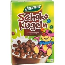 Био зърнена закуска шоколадови топчета 250гр Denree