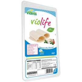 Веган сирене слайс с вкус на моцарела 200гр Виолайф