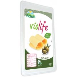 Веган кашкавал слайс с маслини 200гр Без глутен Violife