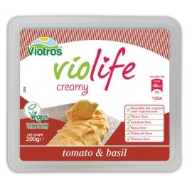 Веган сирене за мазане с вкус на домат 200гр. Без глутен Violife