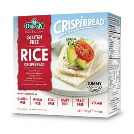 Безглутенови оризови сухари 125гр