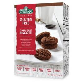 Безглутенови класически шоколадови бисквитки 150гр