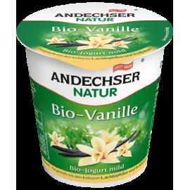 Био кисело мляко с вкус на ванилия 3,7% 150гр Anderchser