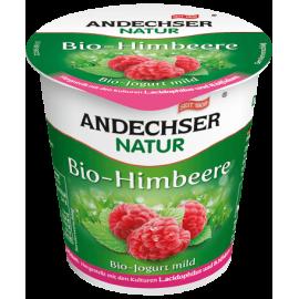 Био кисело мляко с вкус на малина 3.7% 150гр Andechser