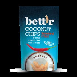 Био кокосов чипс с чили 70гр