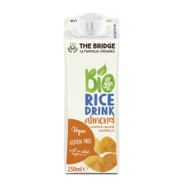 Био оризова напитка с бадем 250мл
