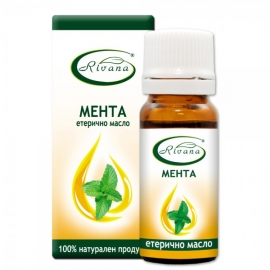 Етерично масло от мента 10мл Ривана