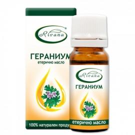 Етерично масло от гераниум (индрише) 10мл Ривана