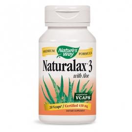Натуралакс 3 410 mg 20 капс. Nature's Way