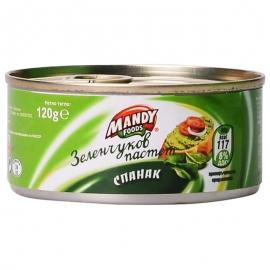 Зеленчуков Пастет със спанак 120гр Mandy