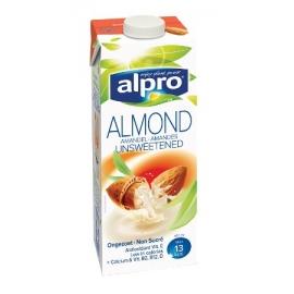 Бадемова напитка без захар и сол 1л Alpro