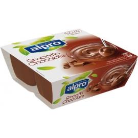 Соев десерт с шоколад 4х125гр Alpro
