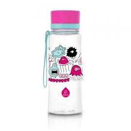 ЕКО бутилка EQUA Розови чудовища BPA free 400 мл.