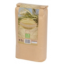 Натурално пълнозърнесто брашно от ечемик 1кг Екосем
