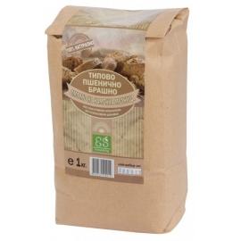 Натурално типово пшенично брашно 1кг Екосем