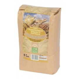 Пълнозърнесто брашно от тритикале 1кг Екосем