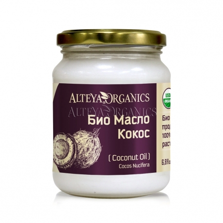 Био кокосово масло 100 мл алтея
