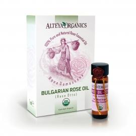 Био българско розово масло 1мл Алтея