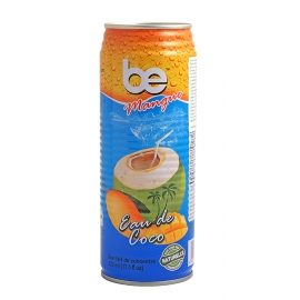 Кокосова вода с вкус на манго 520мл Be Pure