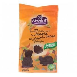 Детски бисквити Джунгла с какао, без глутен 100гр Noglut
