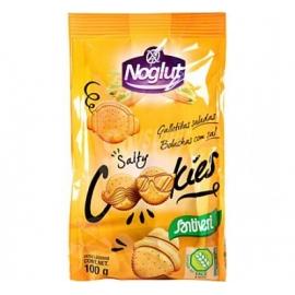 Солени бисквити, без глутен, без лактоза, без яйца 100гр Noglut
