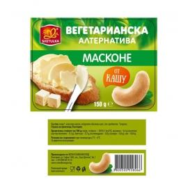 Масконе от био заквасено кашу 150гр Svetulka