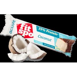 Протеинов бар кокос 55гр FitSpo