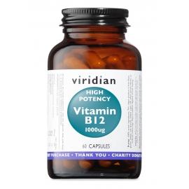 Витамин B12 1000мкг 60капс Viridian