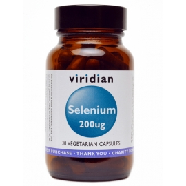 Селен (L-селенметионин) 200mcg 30капс. Viridian