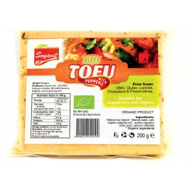 Био тофу с чушки 200гр
