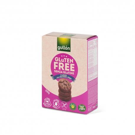 Мини Шоколадови Бисквити, без глутен 200гр Gullon