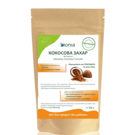 Био кокосова захар 200гр Bionia