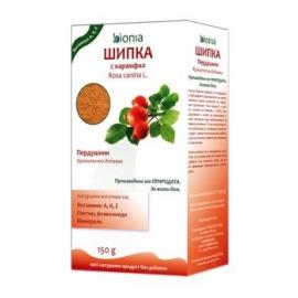 Био шипки на прах с карамфил 150гр Bionia