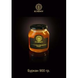 Натурален пчелен мед 900гр Курдов