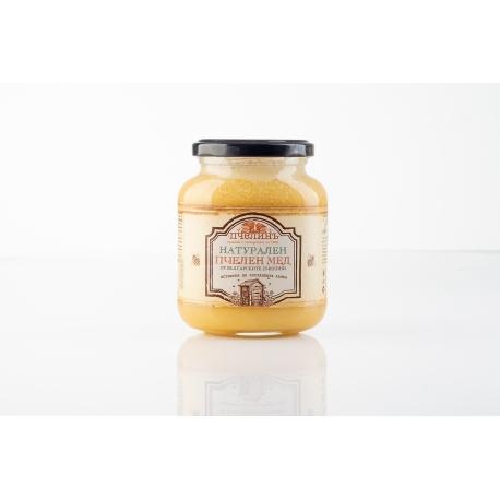 Натурален пчелен мед 450гр Пчелинъ