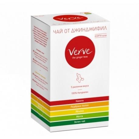 Чай от джинджифил Асорти 20 пак. 40гр. Verve