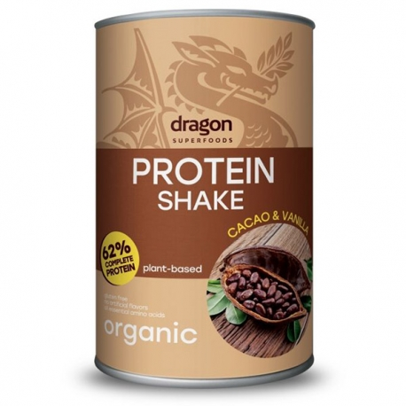 Био Протеинов Шейк с Какао и Ванилия, Dragon Superfoods, 500 g
