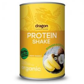 Био Протеинов Шейк с Банан и Кокос 450гр Dragon