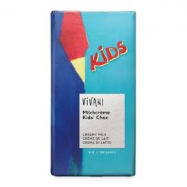 Шоколад детски с млечен крем 100g