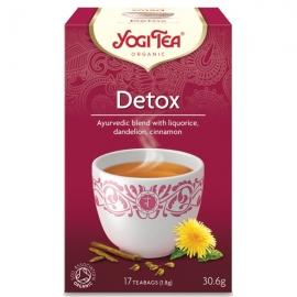 Йоги чай Детокс с лимон 17 пак. 30,6гр